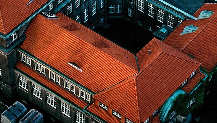 Dach ESA Hauptgebäude