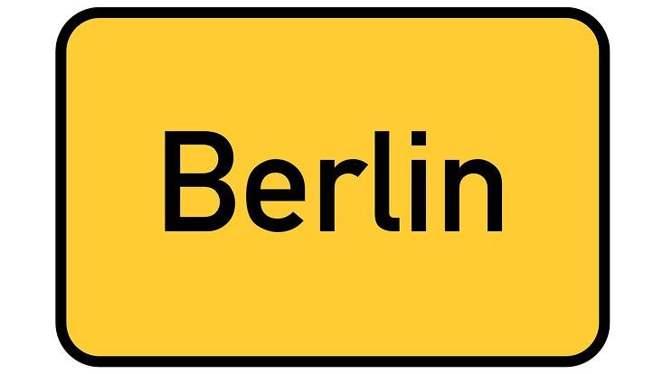 Berliner Ortsschild