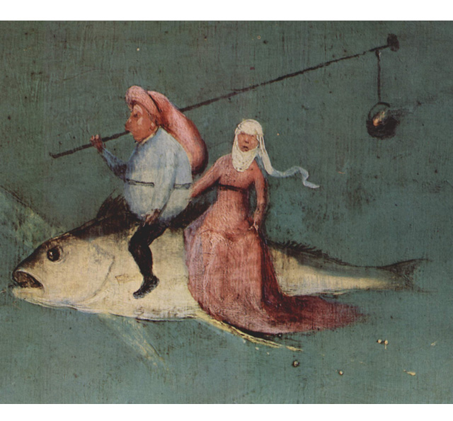 Hieronymus Bosch, Die Versuchung des Hl. Antonius, Detail