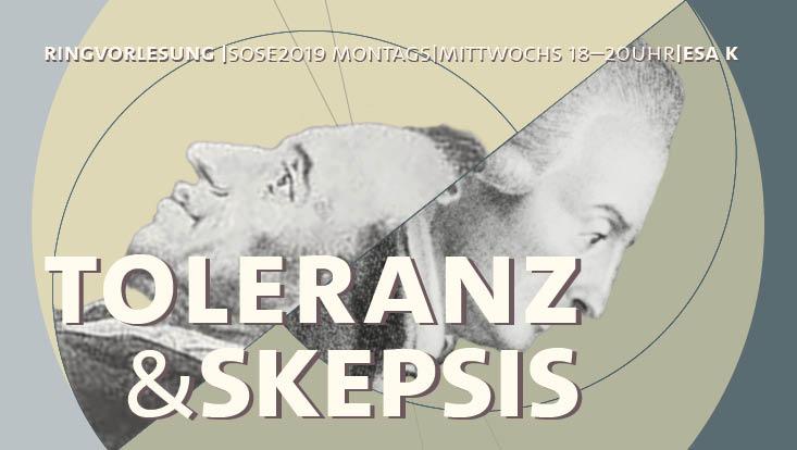 """Vorlesung """"Toleranz und Skepsis"""""""