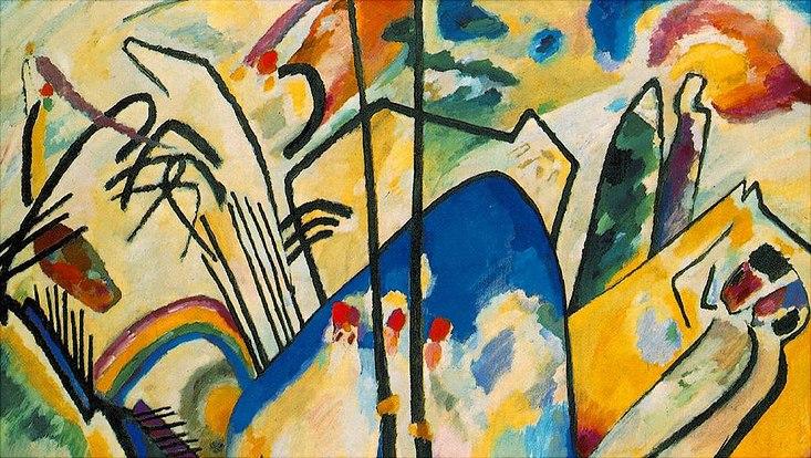Kandinsky: Composition IV, 1911