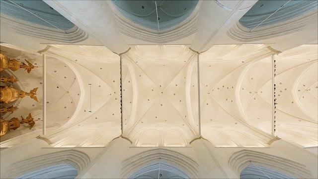 Decke der Hauptkirche St. Katharinen, Hamburg.