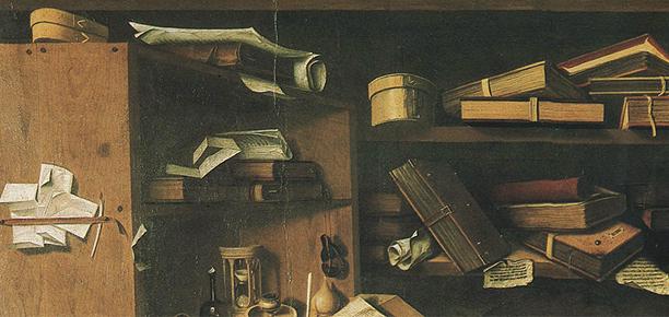 Antonio Colantonio - Der Hl. Hieronymus im Gehäuse, Detail