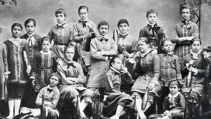 Damenklasse des Concordia-Turnvereins