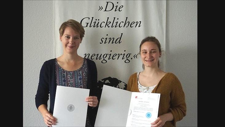 Verleihung Zertifikat Lehrpraxis