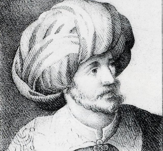 Porträt Mohameds von Aurore de Courvai