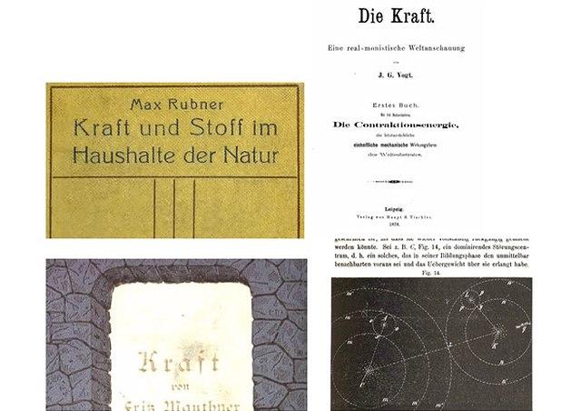 Collage Kraft-Publikationen