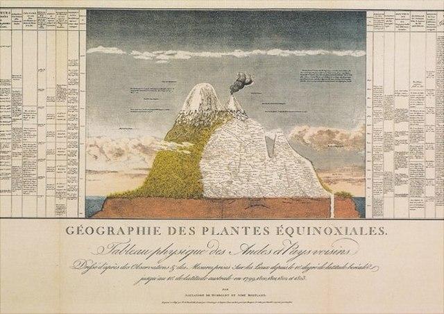 Illustration Géographie des plantes équinoxiales