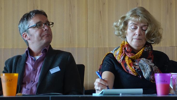 photo of Volker Hilberg & Joanita Vroom