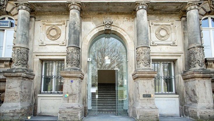 Eingang Gorch-Fock-Wall 3