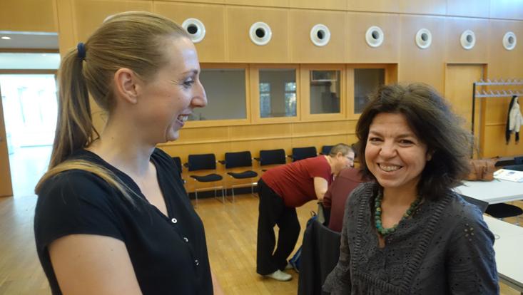 photo of Odile Kommer & Letizia Osti