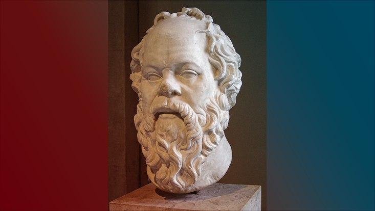 Büste des Sokrates
