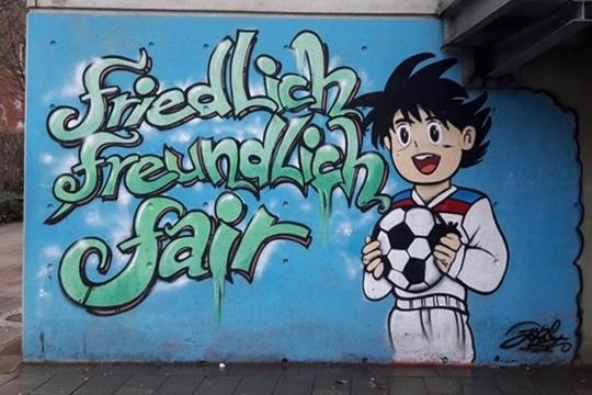 Schule am Hafen Graffiti
