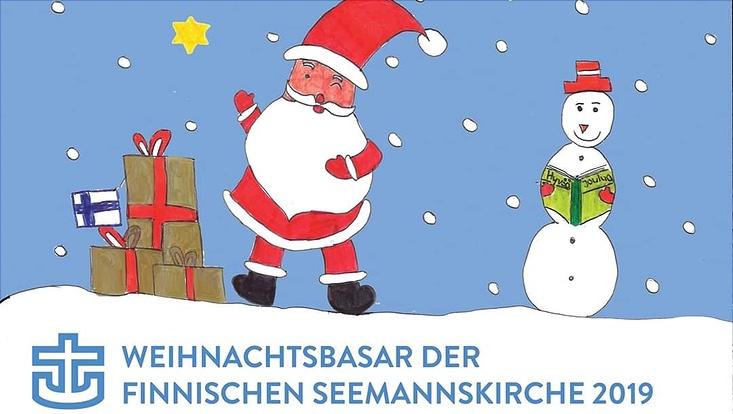 Plakat Finnischer Weihnachtsbasar 2019