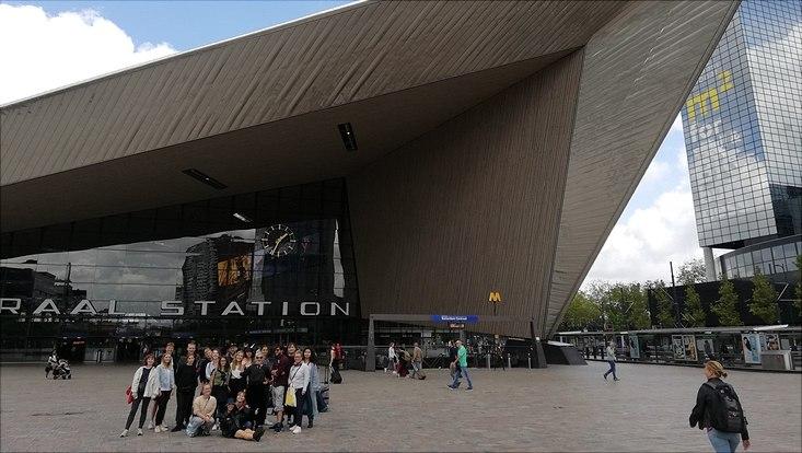 Gebäude in Rotterdamm