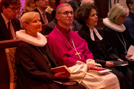 Festgottedienst mit Bischöfin Fehrs, Erzbischof Dr. Heße, Universitätspredigerin Prof. Dr. Merle und Hauptpastorin Murmann