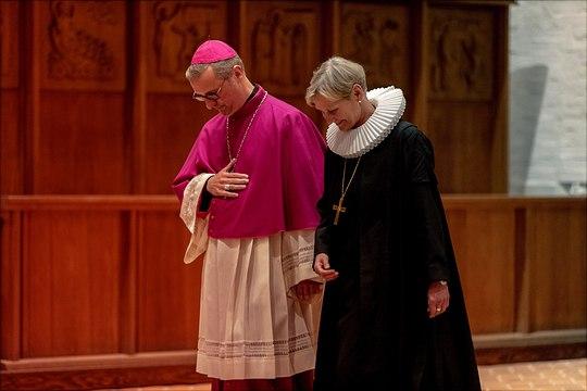 Erzbischof Dr. Heße, Bischöfin Kirsten Fehrs
