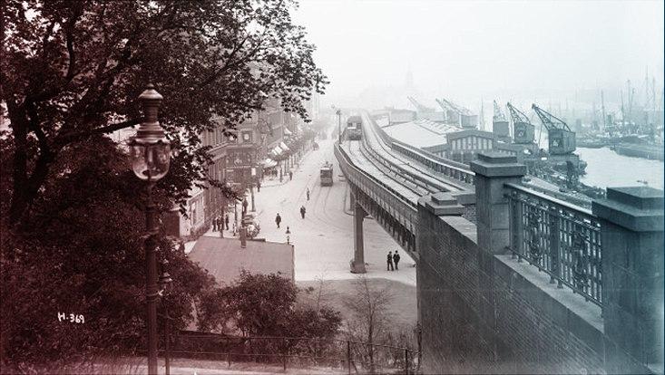 Hamburg-Impression um 1920