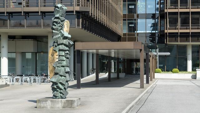 Blick auf das Gebäude