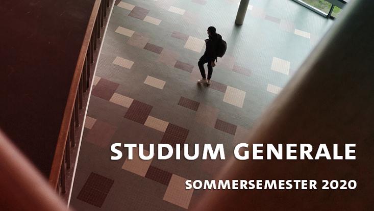 Cover des Studium Generales für das Sommersemester 2020