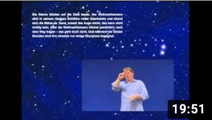 Screenshot des Videos/Screenshot of the video
