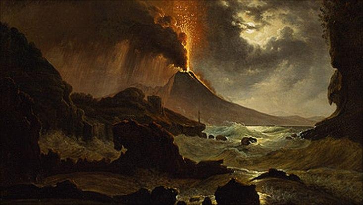 Dahl: Ausbruch des Vesuvs
