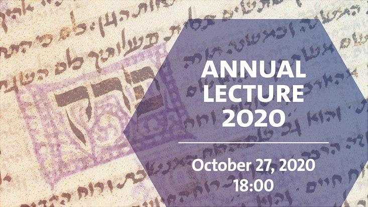 Annual Lecture 2020