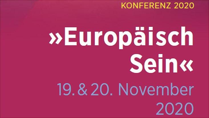 """Konferenz """"Europäisch sein"""""""