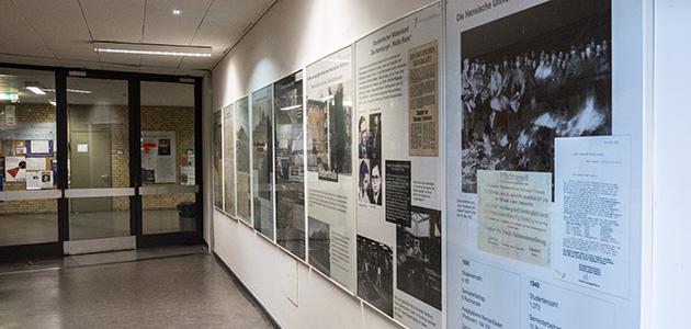 Ausstellung zur Geschichtes des Historischen Seminars