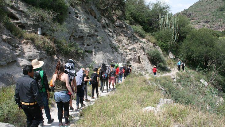 Wanderung durch die Comunidad El Alberto, Hidalgo