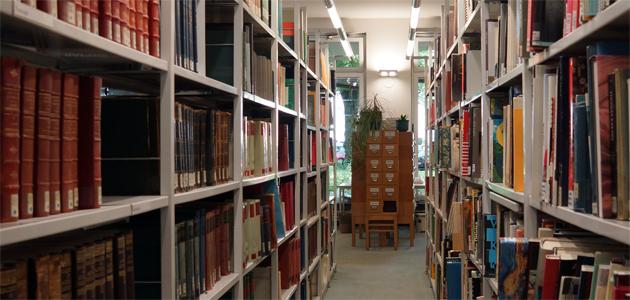 Kunstgeschichtliche Bibliothek Regale