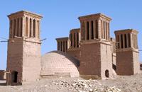 windchimneys, Jazd, in the region of Khurasan