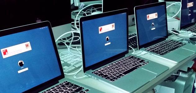 Konfiguration von MacBooks