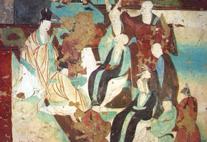 Dunhuang Wandmalerei