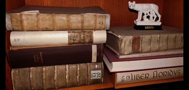 Regal mit Fachbüchern