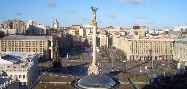 Majdan Nesaleschnosti, Kiew