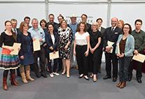 Die Preisträgerinnen und Preisträger des Hamburger Lehrpreises. Bild: Michael Zapf