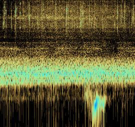Spektrogramm, Geophysik