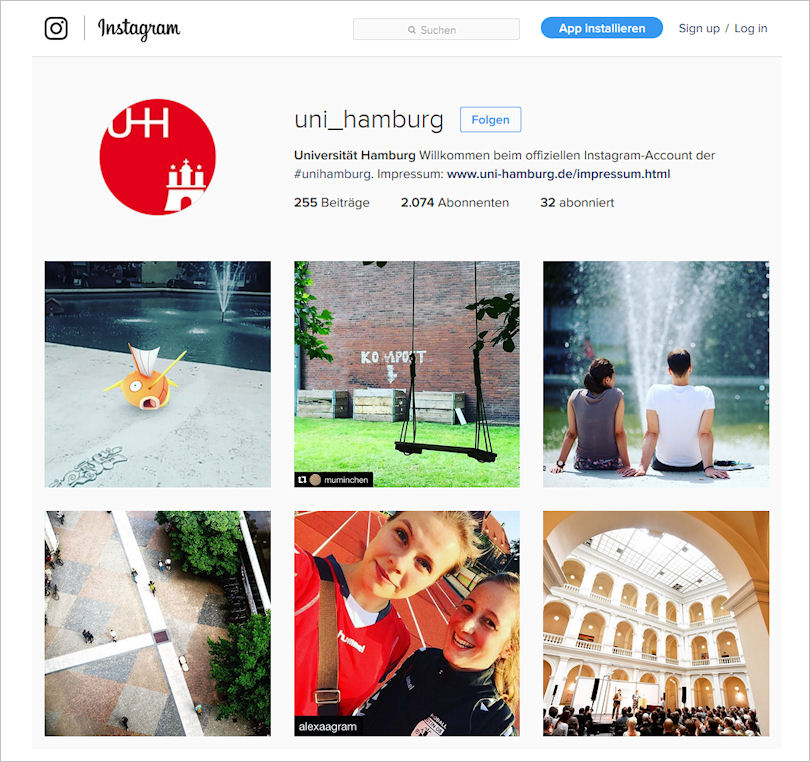 Bilder von instagram