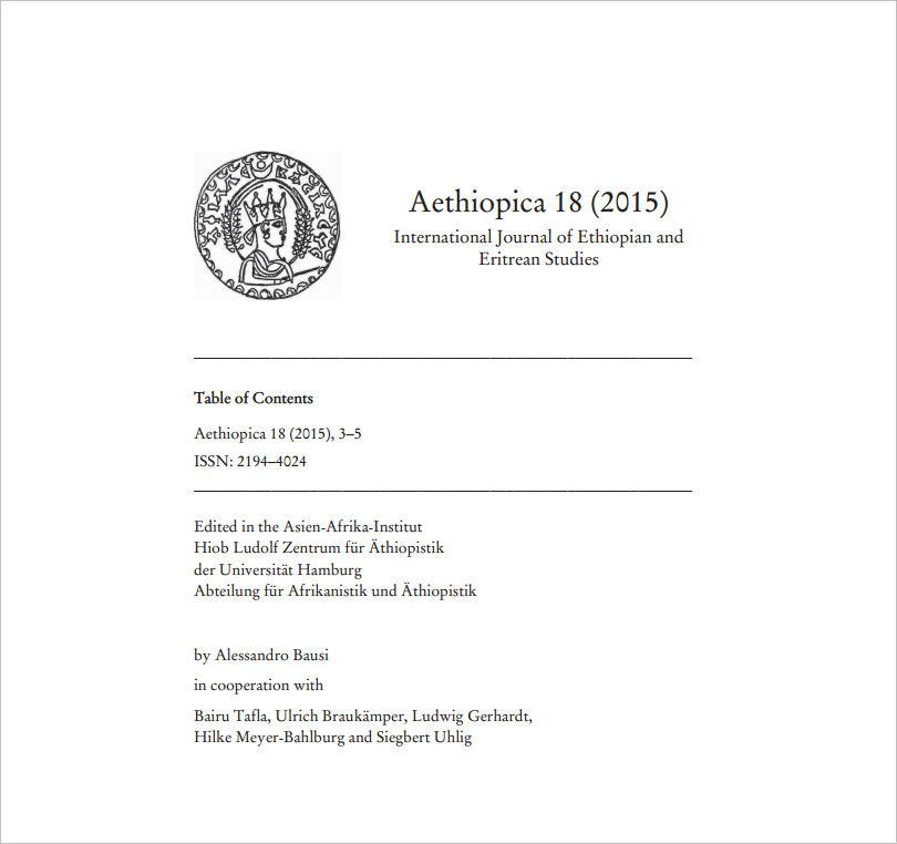 Aethiopica Titel