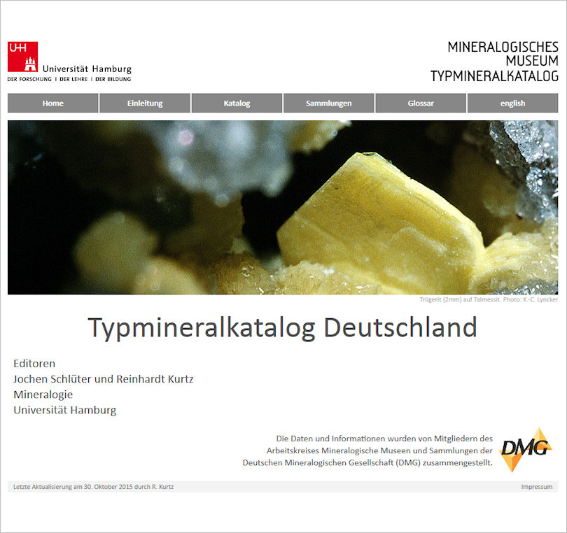 Typmineral-Katalog