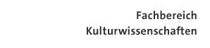 Logo Fachbereich Kulturwissenschaften