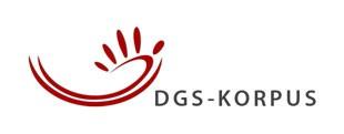 "Logo des Projekts ""DGS-Korpus"""