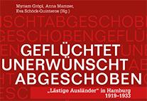 """Cover-Ausschnitt: """"Lästige Ausländer"""" in Hamburg 1919-1933"""