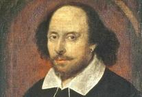 Portrait von Shakespeare