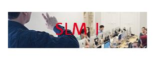 Banner mit Link zum Fachbereich SLM I