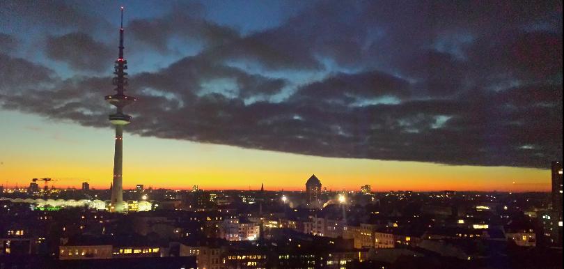 Sonnenuntergang Philturm Aussicht