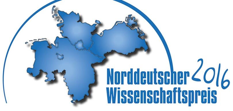 Norddeutscher Wissenschatfspreis 2016 - Logo