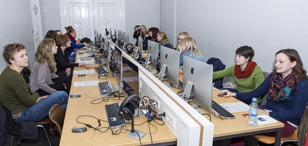 IDGS-Studierende im Seminar