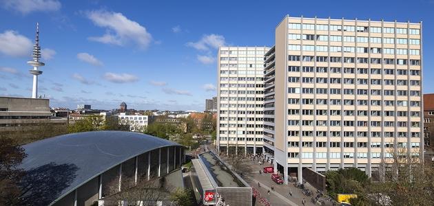 Philosophenturm, Audimax und Fernsehturm